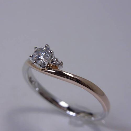 婚約指輪、エンゲージリング 「Sylph(シルフ)」