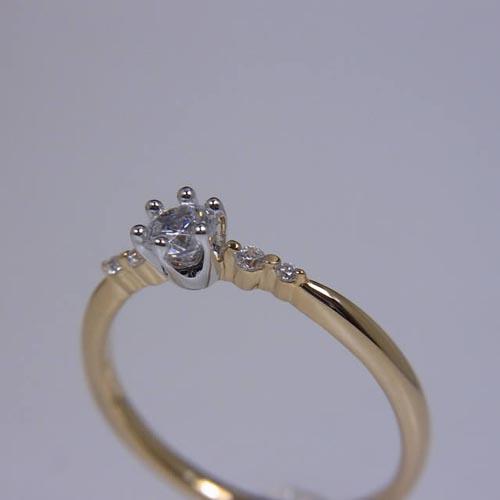 婚約指輪、エンゲージリング 「ange(アンジェ)」