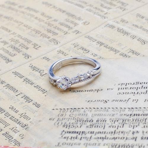 婚約指輪 baiser de l'ange(ベゼ・ド・ランジュ)