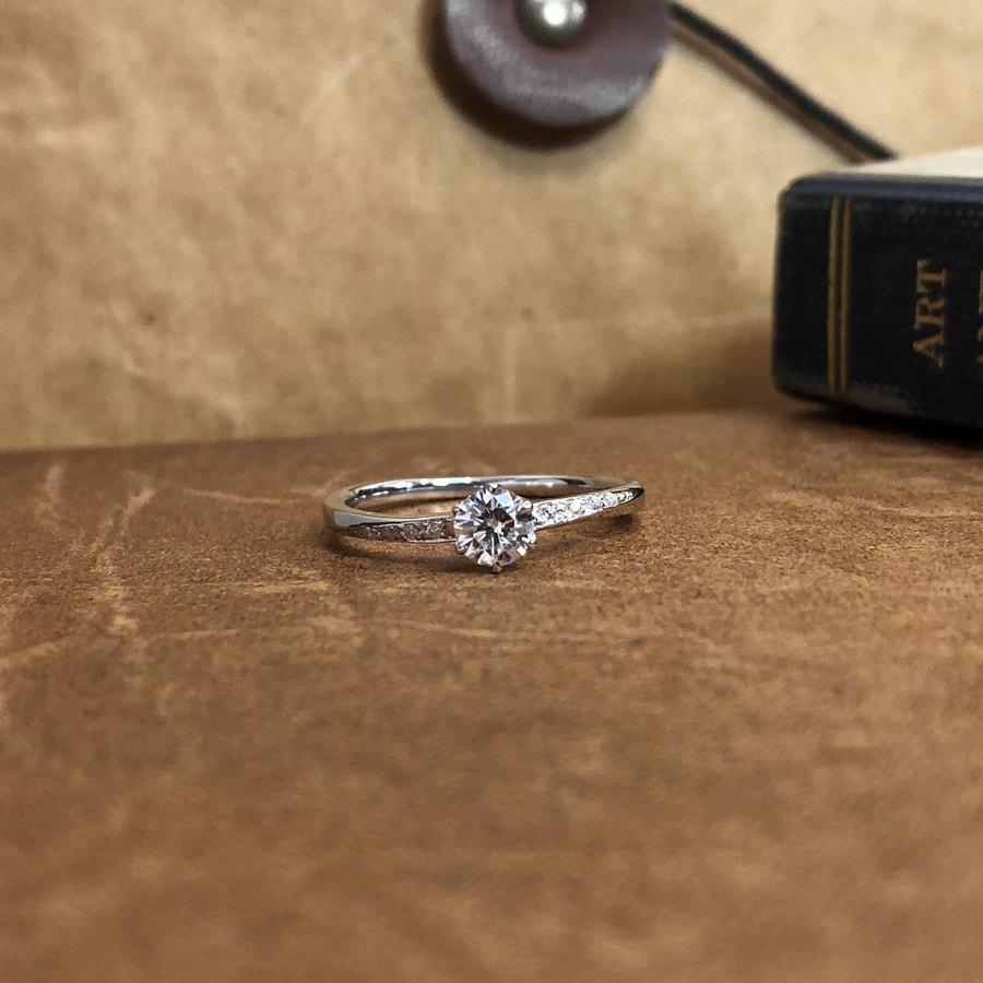 婚約指輪、エンゲージリング 「blanche(ブランシュ)」2