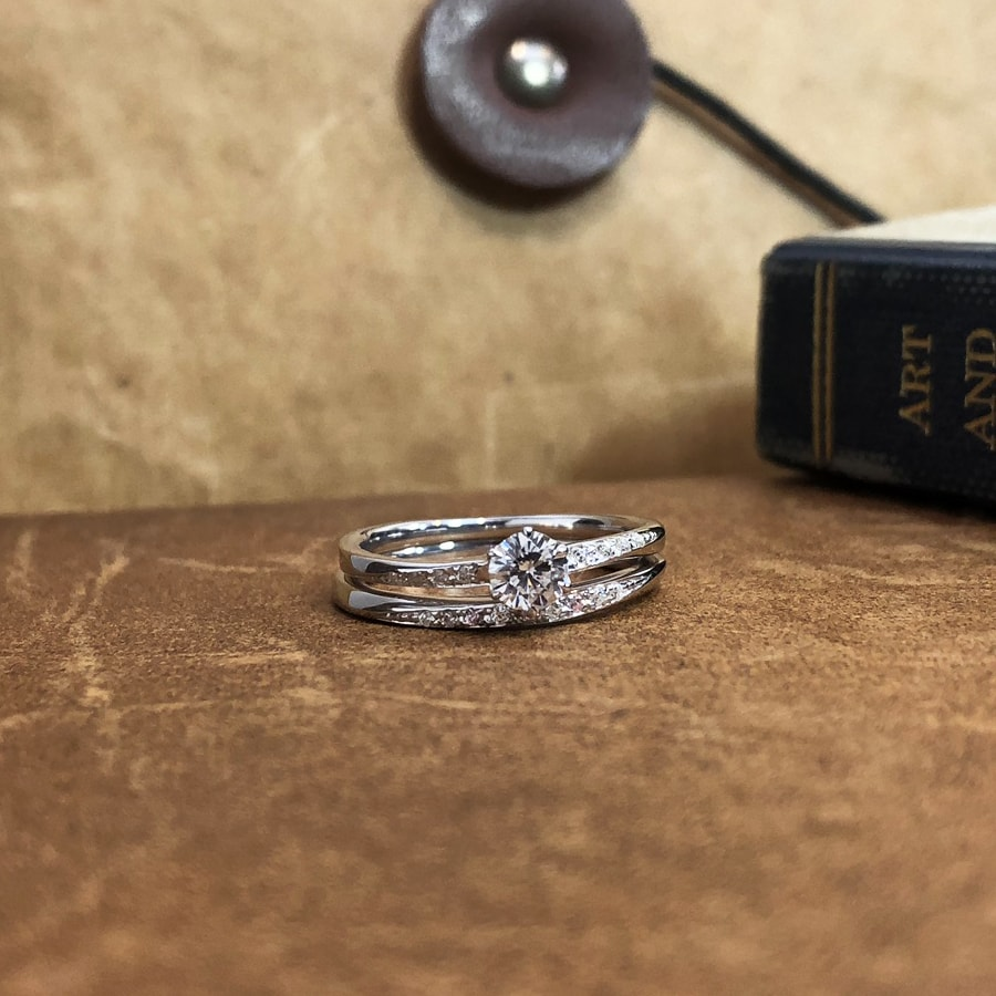 婚約指輪、エンゲージリング 「blanche(ブランシュ)」7