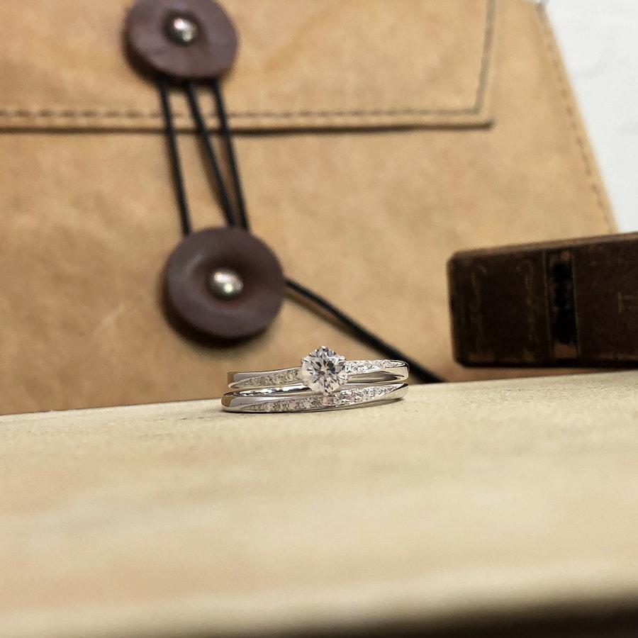 婚約指輪、エンゲージリング 「blanche(ブランシュ)」6
