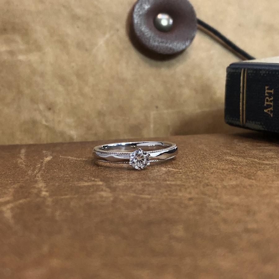 婚約指輪、エンゲージリング 「canevas(キャヌバ)」2