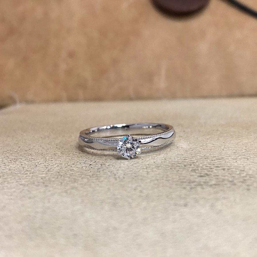 婚約指輪、エンゲージリング 「canevas(キャヌバ)」