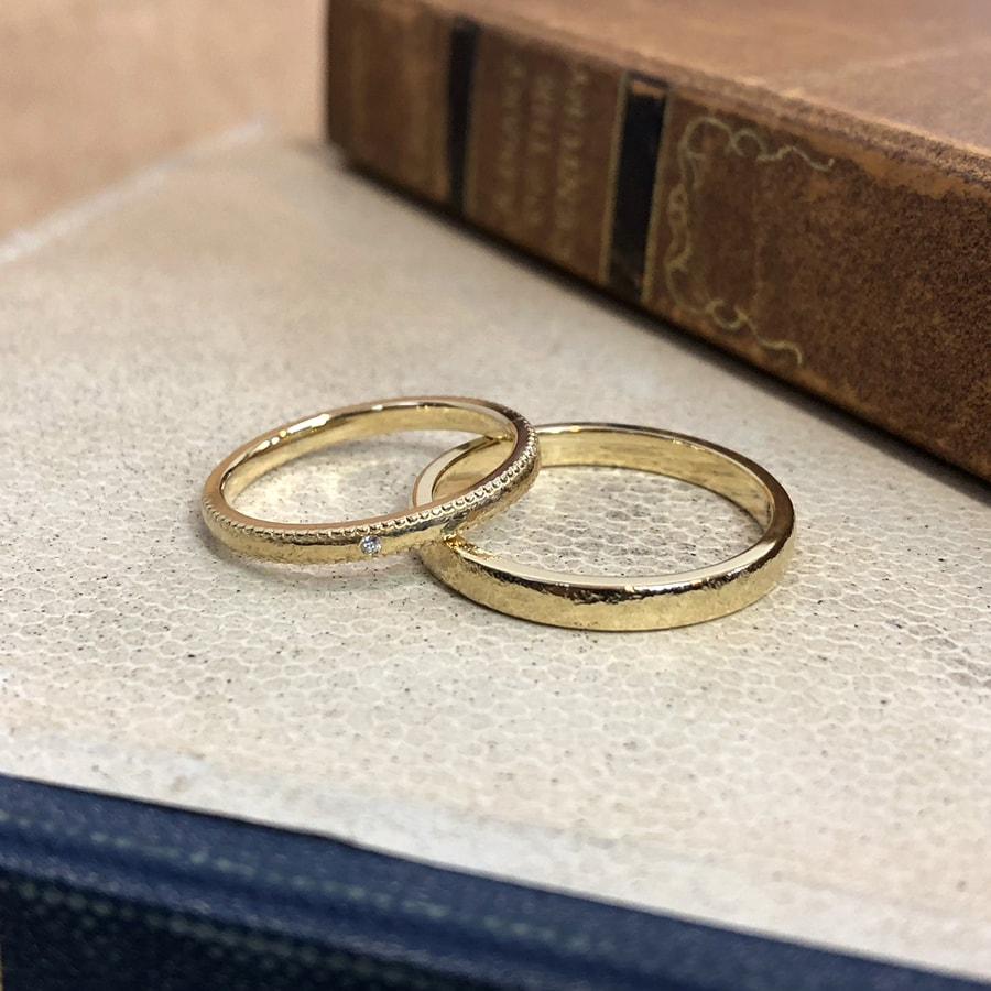 ケルヒ・マリッジリング、結婚指輪 「rocher round(ロシェ・ラウンド)」の紹介