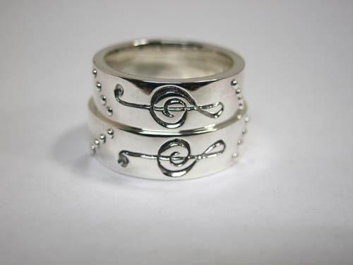 シルバーオーダーメイド結婚指輪の紹介