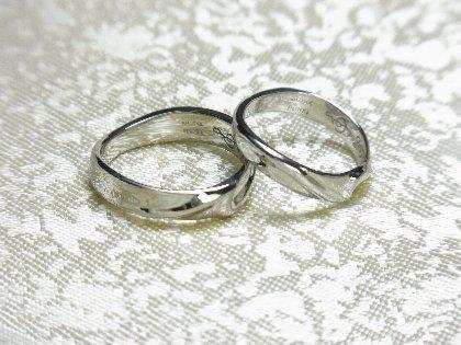 オーダーメイド・プラチナ結婚指輪の紹介
