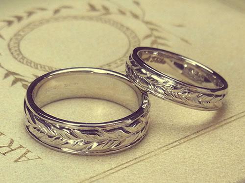 マリッジリング、結婚指輪の作品ご紹介2