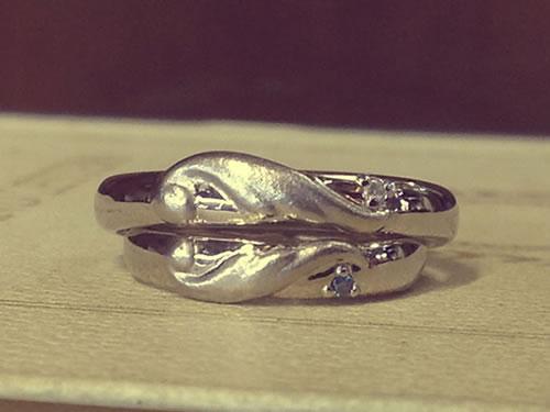 マリッジリング、結婚指輪の作品ご紹介4