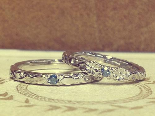 マリッジリング、結婚指輪の作品ご紹介6