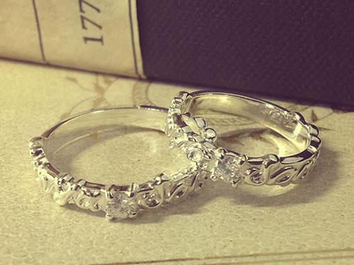 マリッジリング、結婚指輪の作品ご紹介8