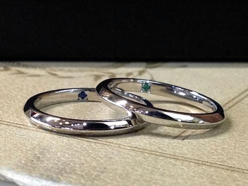 結婚指輪手作り作品ご紹介2