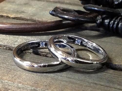 結婚指輪手作り作品ご紹介7