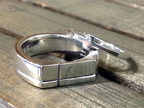結婚指輪手作り作品ご紹介8