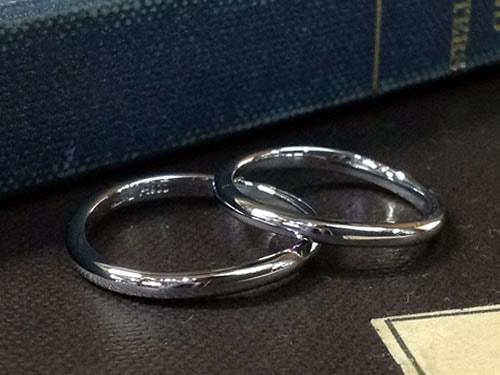 結婚指輪手作り作品ご紹介9