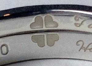 結婚指輪文字彫刻サンプル4