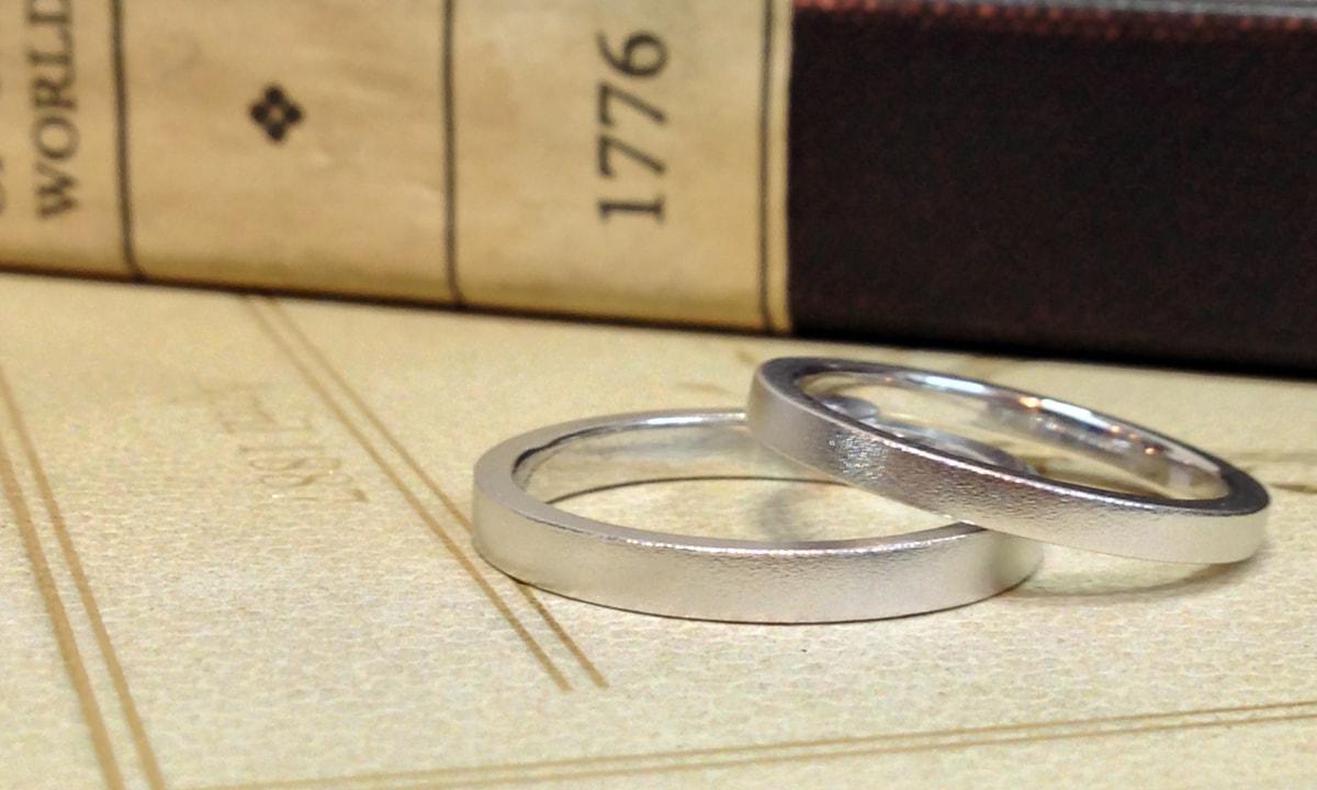 結婚指輪リフレッシュ