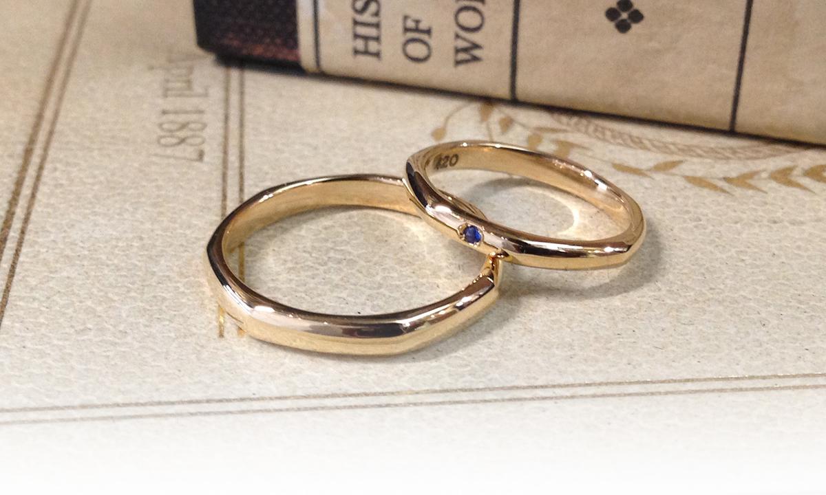 時を刻む結婚指輪イメージ