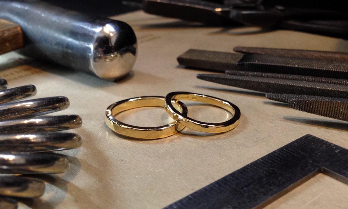 結婚指輪手作りプラン・鍛造コース概要