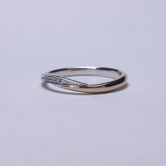 マリッジリング、結婚指輪 「avec toi(アヴェク・トワ )」