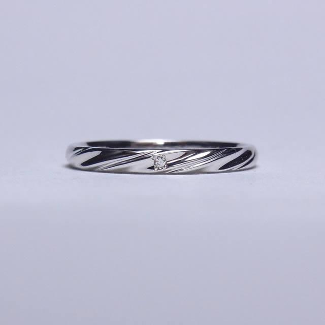 マリッジリング、結婚指輪 「fiume(フューメ」
