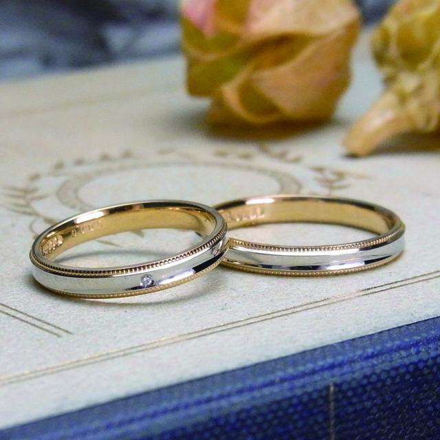 マリッジリング、結婚指輪 「ouverture(オーヴェルテュール)【鍛造】」