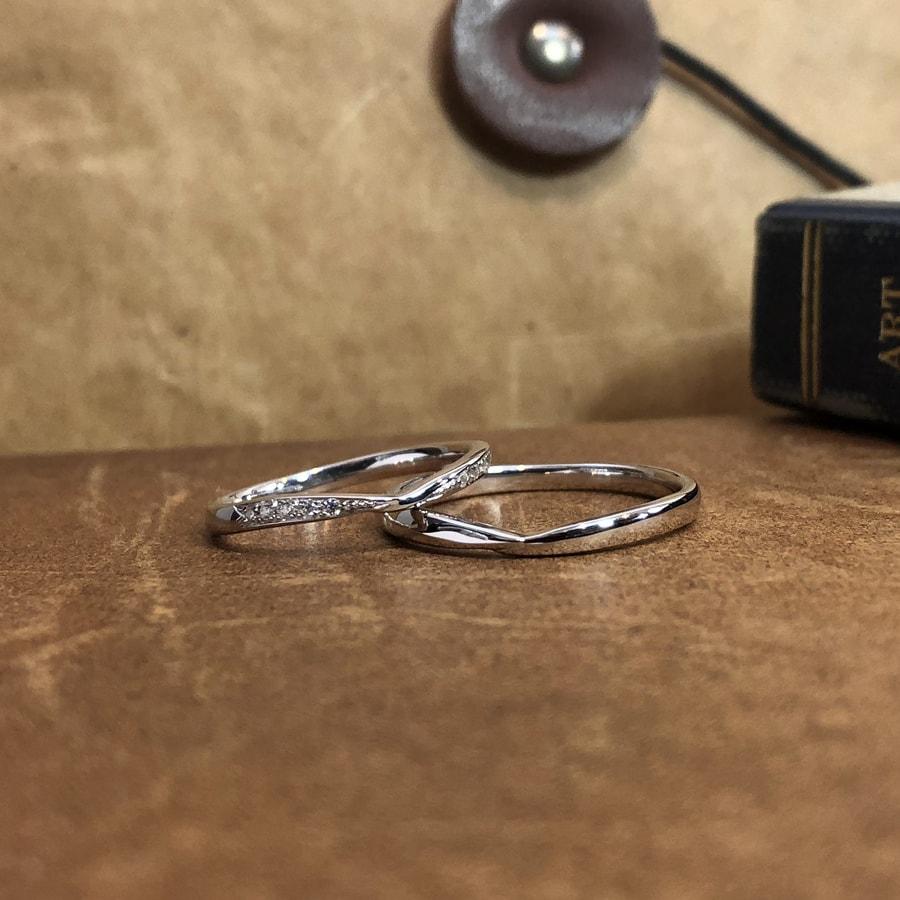 マリッジリング、結婚指輪 「bisou(ビズー)」2