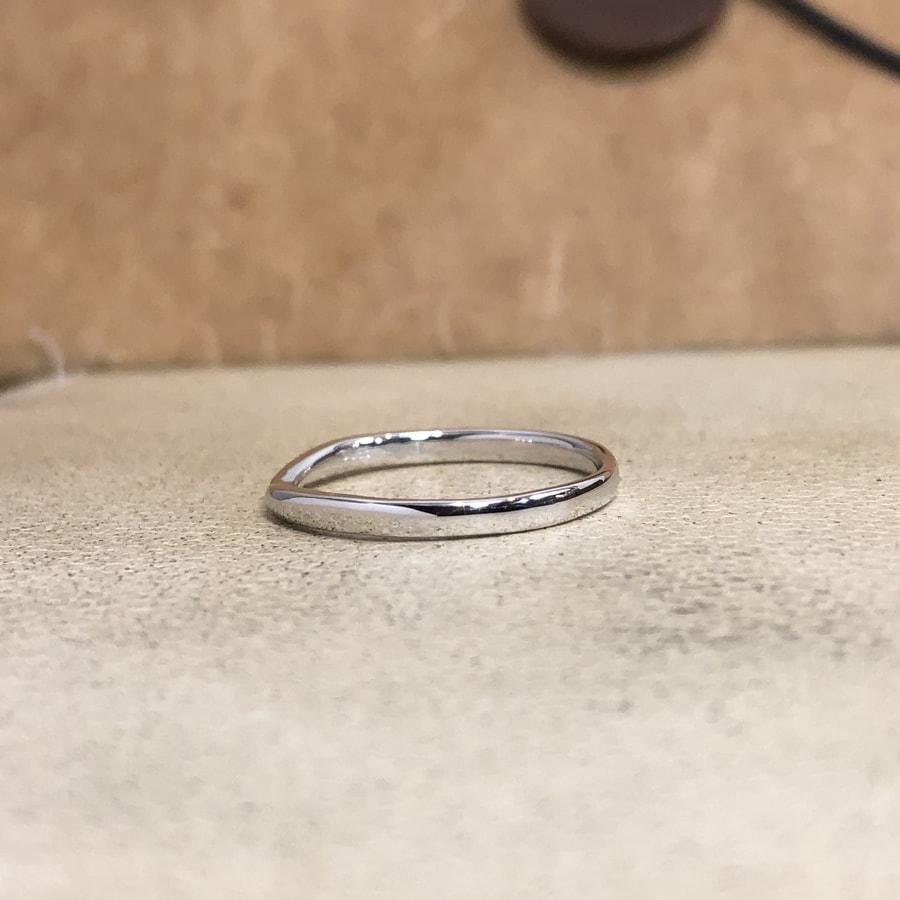 マリッジリング、結婚指輪 「bisou(ビズー)」男性用左側