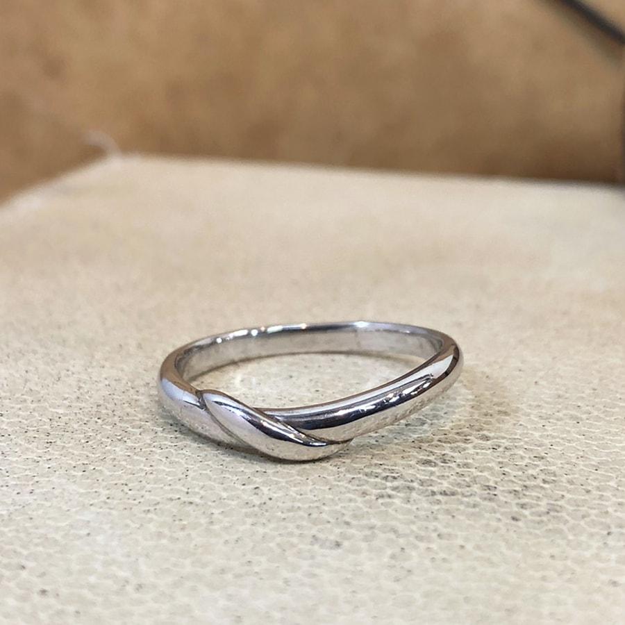 マリッジリング、結婚指輪 「carino(カリーノ)」男性用正面