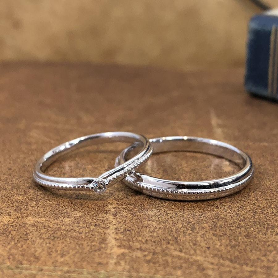 マリッジリング、結婚指輪 「chiaro(キアーロ)」2