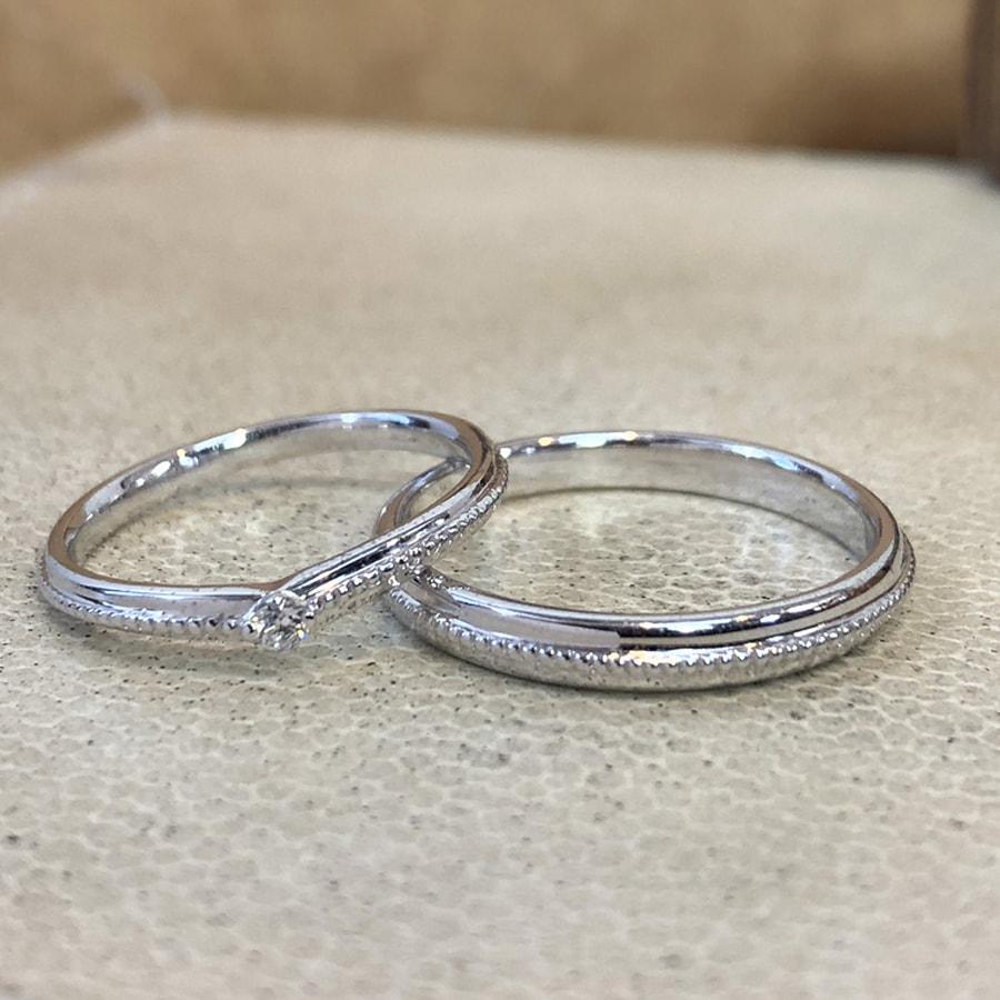 マリッジリング、結婚指輪 「chiaro(キアーロ)」1