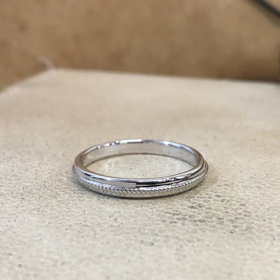 マリッジリング、結婚指輪 「chiaro(キアーロ)」男性用正面