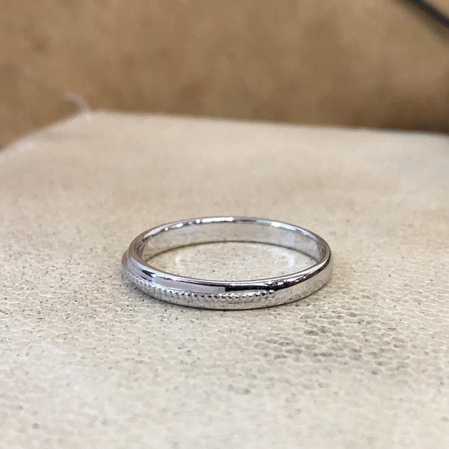 マリッジリング、結婚指輪 「chiaro(キアーロ)」男性用左側