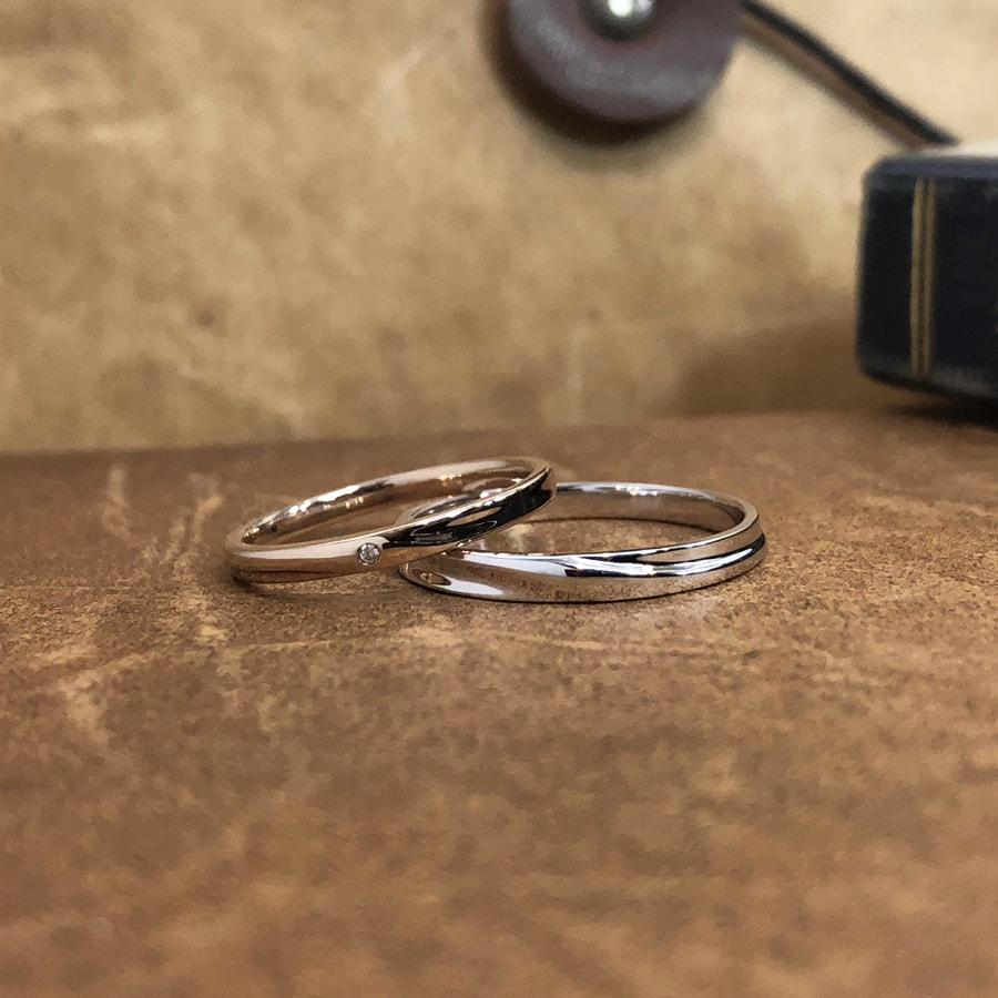 マリッジリング、結婚指輪 「chic(シック)」2