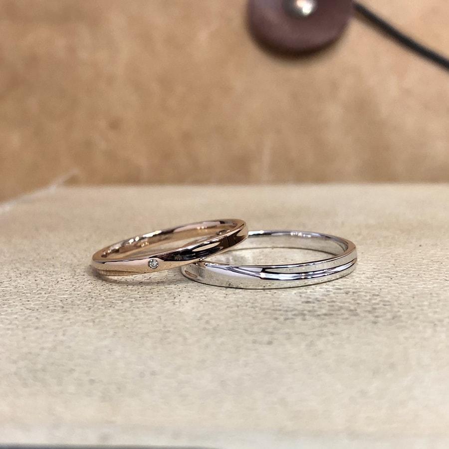 マリッジリング、結婚指輪 「chic(シック)」1