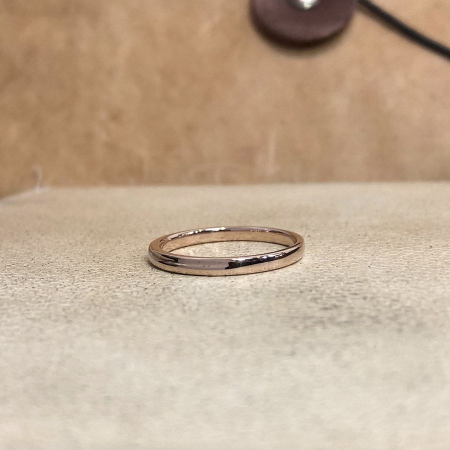 マリッジリング、結婚指輪 「chic(シック)」女性用左側