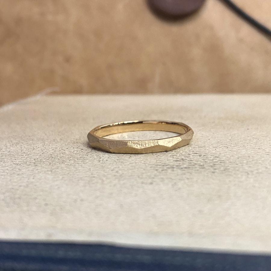 マリッジリング、結婚指輪 「dur(デュール)」男性用左側