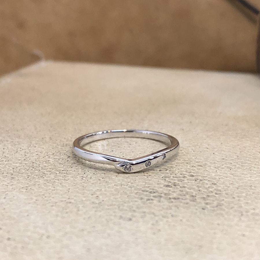マリッジリング、結婚指輪 「felice(フェリーチェ)」女性用正面