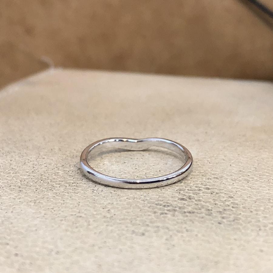 マリッジリング、結婚指輪 「felice(フェリーチェ)」女性用後ろ