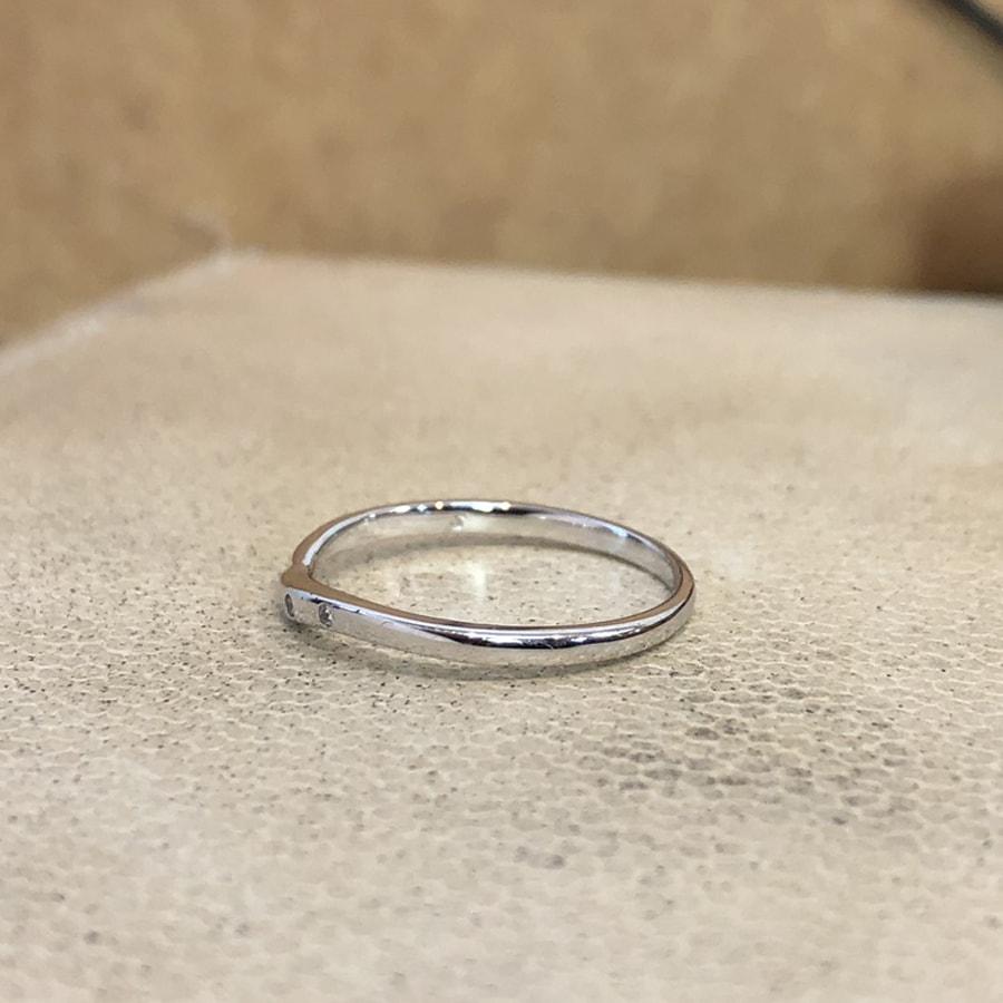 マリッジリング、結婚指輪 「felice(フェリーチェ)」女性用左側