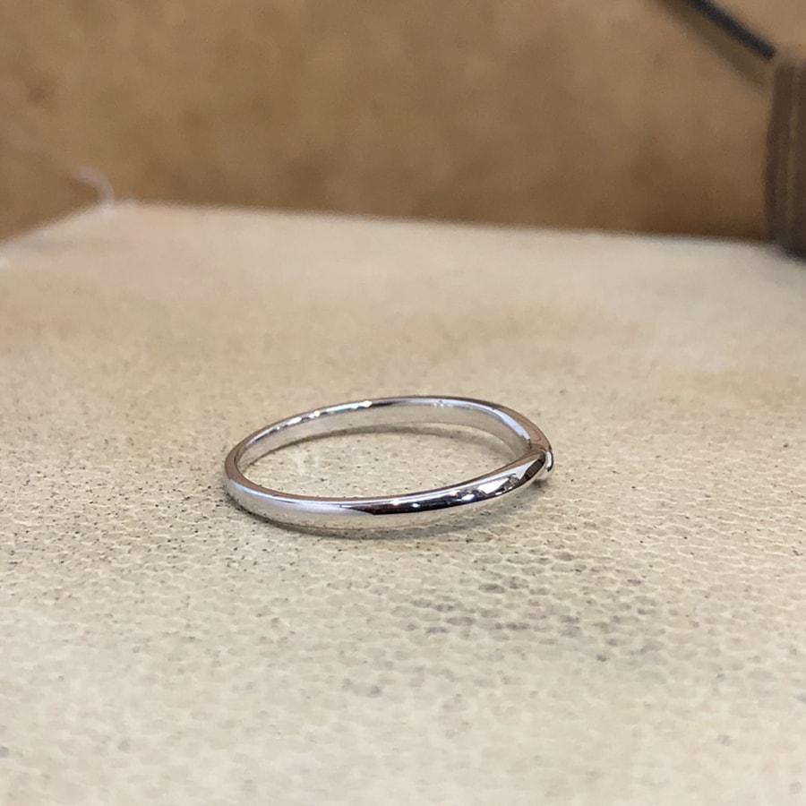 マリッジリング、結婚指輪 「felice(フェリーチェ)」女性用右側