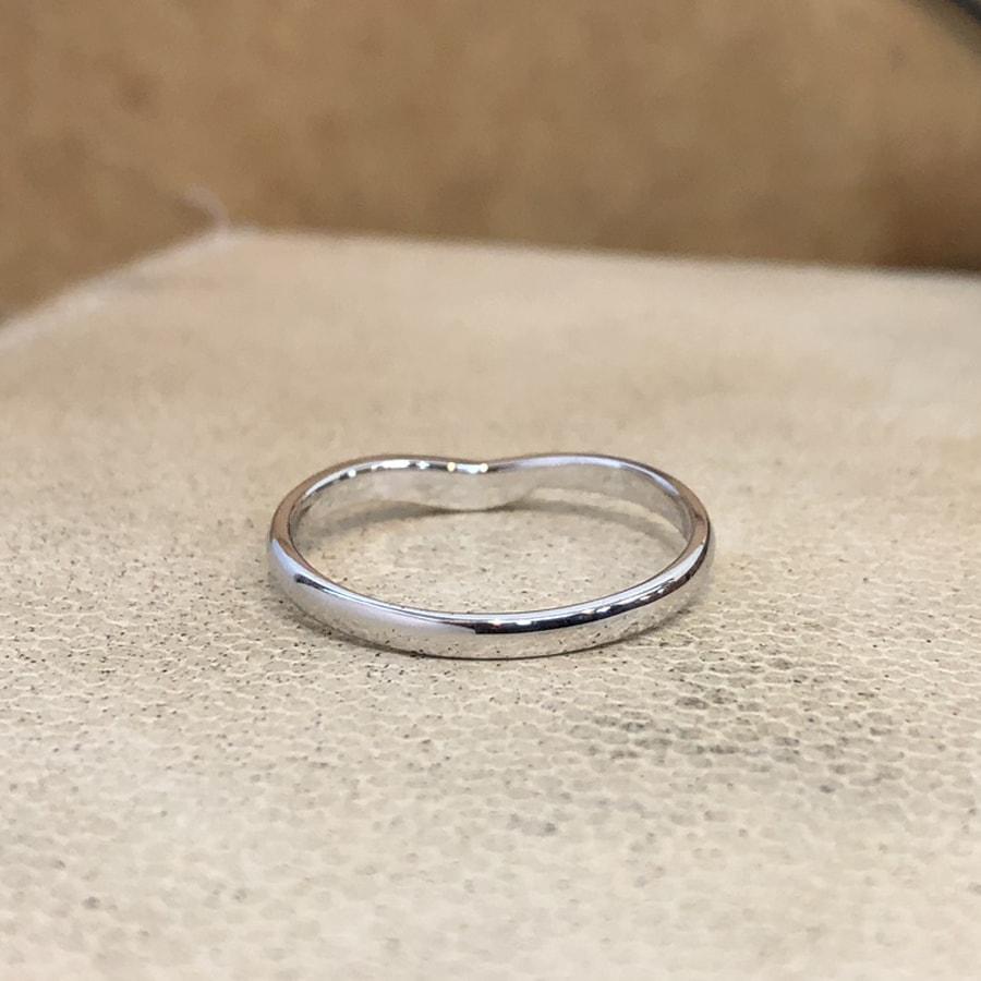 マリッジリング、結婚指輪 「felice(フェリーチェ)」男性用後ろ