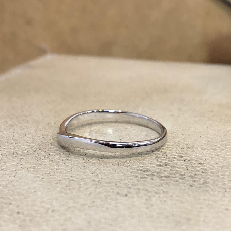 マリッジリング、結婚指輪 「felice(フェリーチェ)」男性用左側