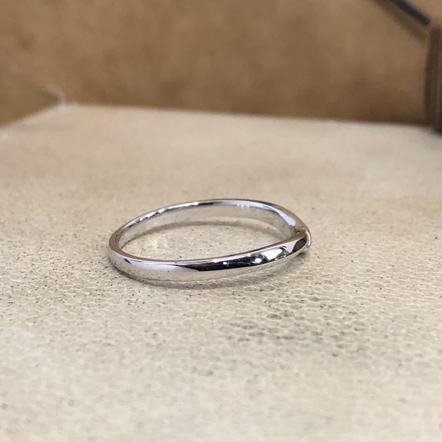 マリッジリング、結婚指輪 「felice(フェリーチェ)」男性用右側