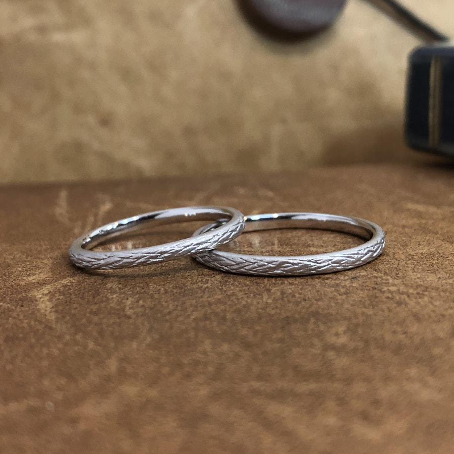 マリッジリング、結婚指輪 「folio(フォリオ)」2
