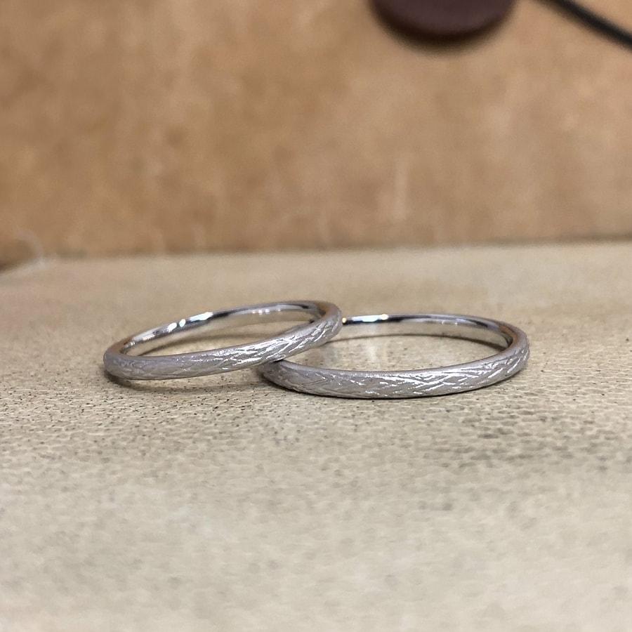 マリッジリング、結婚指輪 「folio(フォリオ)」1