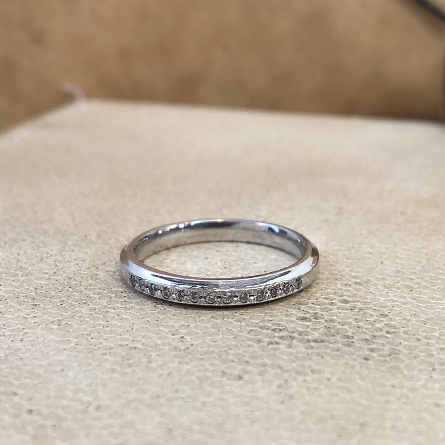 マリッジリング、結婚指輪 「grazia(グラッツィア)」女性用正面