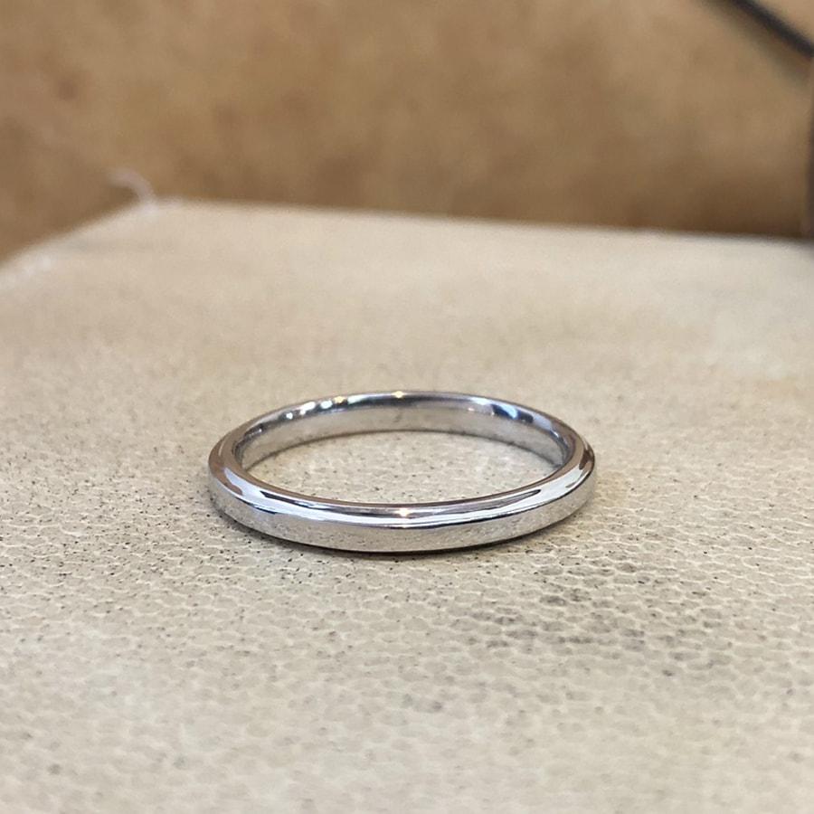 マリッジリング、結婚指輪 「grazia(グラッツィア)」男性用正面