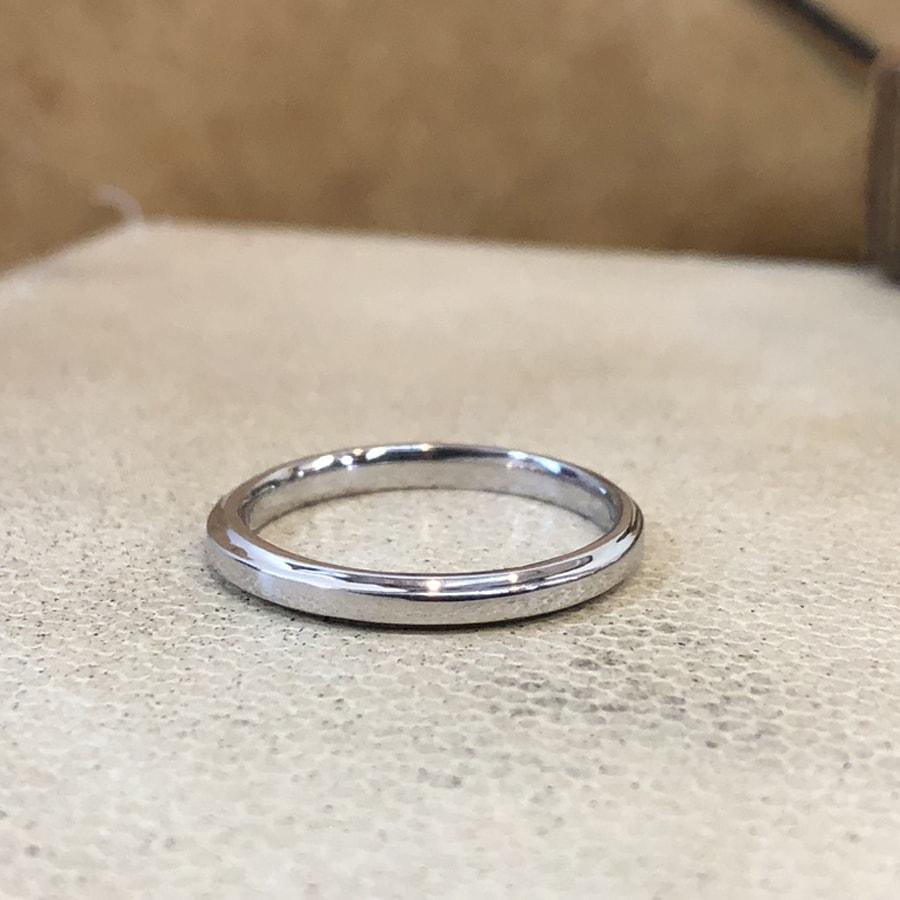 マリッジリング、結婚指輪 「grazia(グラッツィア)」男性用後ろ