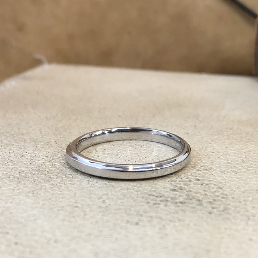 マリッジリング、結婚指輪 「grazia(グラッツィア)」男性用左側